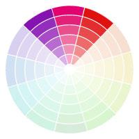 Analogous Colour Palette